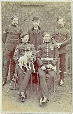 NCOs 7th Dragoon Guards (Princess Royal's) Shortly After the 2nd Boer War | by sunnybrook100