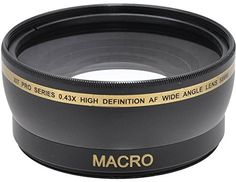 Wide Angle Lens Macro with Lens Bag for Select Canon Camera Models Best Canon Camera, Canon Lens, Canon Zoom, Nikon D3100, Sony A6000, Iphone 6, Digital Camera Lens, Canon Digital, Digital Slr