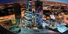 Death-Defying Photographs by Vadim Mahorov: Moscow City, Imperia Tower