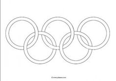 Juf Sanne: os ringen Crafts For Kids, Arts And Crafts, Olympic Games, Art School, Olympics, Games, Crafts, Olympic Sports, Kids Arts And Crafts