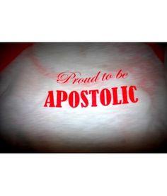 proud to be apostolic