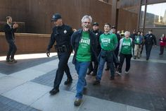 Earth Quaker Action Team Friends arrested by the PIttsburgh police for speaking the truth about PNC Bank's financing of mountaintop removal coal mining.