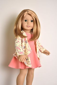 Cardigan American Girl doll Clothes