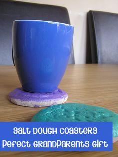 Salt dough Coasters