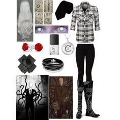 Creepypasta: Daughter of Slender Man by ender1027 on Polyvore
