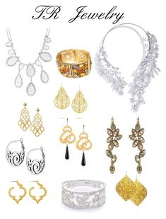 """""""Theatrical Romantic Jewelry"""" by ithinklikeme ❤ liked on Polyvore featuring NUR, Tory Burch, IaM by Ileana Makri, Fornash, Julie Tuton Jewelry, ALDO, GUESS by Marciano, Gionni, theatricalromantic and kibbetheatricalromantic"""