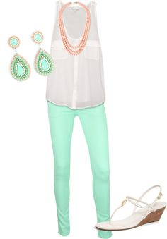 Not crazy about the skinny jeans, but the entire outfit as a whole is killer!