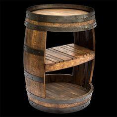 Wine Barrel Shelf by RockyMountainBarrels on Etsy