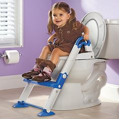 We are still a LONG time from potty training, but this is the coolest thing I have ever seen & will be getting her one when the time is right!
