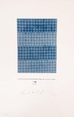 Henri Chopin, 'Zéros pour un vitrail puissant,' 1992, Richard Saltoun