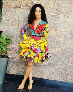 fd4bfbf04 10 Stunning Electric Bulb Ankara Outfits You Cannot Resist on Mondays. African  FashionTraditionalStyleSwagAfrican ...