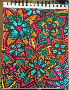 ColorIt Colorful Flowers Volume 1 Free Coloring Page Colorist