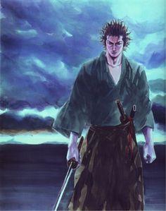 Takehiko Inoue, Vagabond, Art of Vagabond: Water, Musashi Miyamoto (Vagabond) Manga Vagabond, Manga Anime, Anime Art, Inoue Takehiko, Samurai Artwork, Miyamoto Musashi, Galactic Heroes, Western Comics, Samurai Tattoo