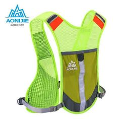 AONIJIE Sport Hiking Hydration Backpack Outdoor Ride Marathon Backpack Male Lightweight Vest Climbing Cycling Running Backpack
