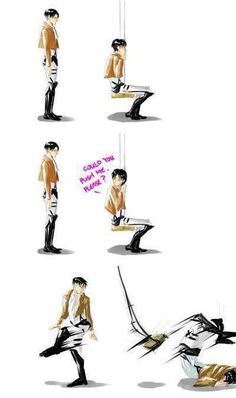 Attack on Titan -- I probably shouldn't have laughed so hard at this