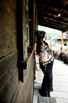 Moria Chappell's saloon photo shoot | Bellydance Vogue