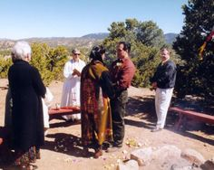 native american seven steps and vows in wedding