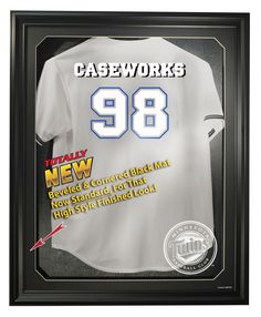 Minnesota Twins Removable Face Jersey Display, Black from ManCaveGiant.com
