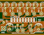 Cara Membuat Led Vu Display Untuk Mixer audio - Blogkamarku.com Hobby Electronics, Electronics Projects, Led, Arduino, Electronic Schematics, Light Emitting Diode, Susa, Divine Mercy, Circuit Diagram