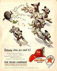 Texaco Fire Chief – Dalmatians (1951)