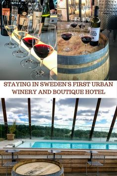 Unique wine experience in Stockholm - Staying at The Winery,Solna