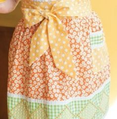 Another chance to win an At Home with Modern June book!! My grrs apron from Modern June via Apronista.com