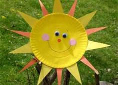 easy summer craft for kids - Bing Images summer sun cute you can also make it with shades