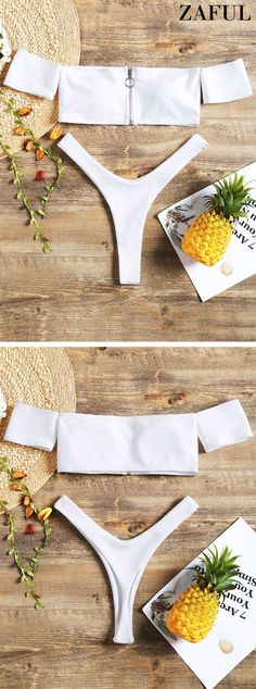 Up to 80% OFF! Zip Front Off Shoulder Thong Bikini Set. #Zaful #Swimwear #Bikinis zaful,zaful outfits,zaful dresses,spring outfits,summer dresses,Valentine's Day,easter,super bowl,st patrick's day,cute,casual,fashion,style,bathing suit,swimsuits,one pieces,swimwear,bikini set,bikini,one piece swimwear,beach outfit,swimwear cover ups,high waisted swimsuit,tankini,high cut one piece swimsuit,high waisted swimsuit,swimwear modest,swimsuit modest,cover ups @zaful Extra 10% OFF Code:ZF2017