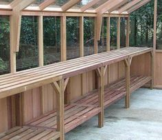 Image result for greenhouse interior bench