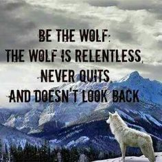 Be the wolf..