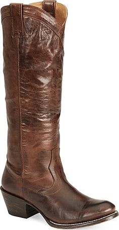 cowboy boot meets riding boot