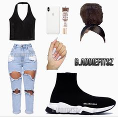 Cute Swag Outfits, Tomboy Outfits, Teen Fashion Outfits, Teenager Outfits, Dope Outfits, Stylish Outfits, Girl Outfits, Women's Fashion, Jordan Outfits For Girls