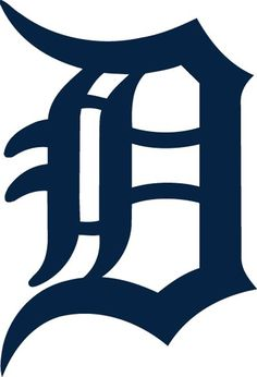 I'm a big Detroit Tigers Baseball fan. This is the logo or emblem for them. It's called an old English D. <3