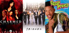 Dica de 5 séries nostálgicas para ver na Netflix: Charmed, Friends, Fresh Prince of Bel Air, The Nanny e That 70s Show