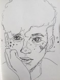 journalstudymore: A sketch of my baby, Troye - Journal Inspiration