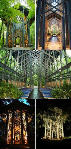 Ozark Gothic: The Mystical Thorncrown Chapel
