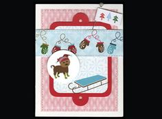 Crafts 'n things : Projects : Details : winter-pup-card