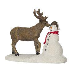 Luville Rendier met Sneeuwpop