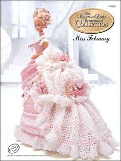 Crochet - Doll Patterns - Bed Doll Patterns - Centennial Miss February 1993