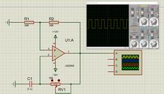 LM2900 Op-Amp Circuit Diagram Circuit Diagram, Circuits, Map, Location Map, Maps