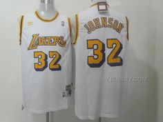 http://www.yjersey.com/nba-lakers-32-johnson-white-new-revolution-30-jerseys.html #NBA #LAKERS 32 JOHNSON WHITE NEW REVOLUTION 30 JERSEYSOnly$37.00 Free Shipping!
