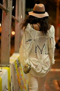 nice sweater ganja style