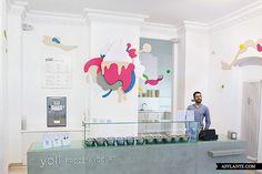 'Yoli Frozen Yogurt' Store Interior // Amseldrossel