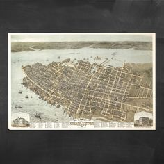 Weekly Special - Map of Charleston 15% off!