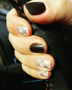Jamberry Matte black and upper east side