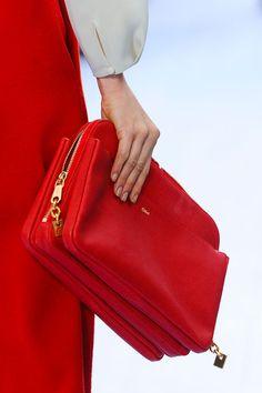 Chloé Fall 2012. Striking Red