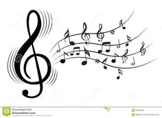 Clip Art Music Notes - Viewing Gallery: