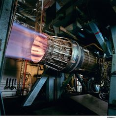 Pratt & Whitney F100 engine.