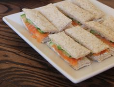 ... salmon and cucumber finger sandwiches smoked salmon and cucumber