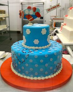 2-tier for a little boy's 3rd birthday!